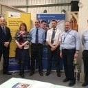 Staff opening Marchwood Gas Centre