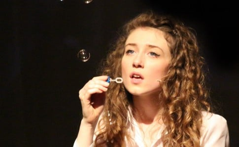 Performing Arts Student in Bursting the Bubble Play