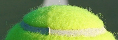 Close Up Tennis Ball