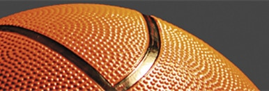 Close up basketball