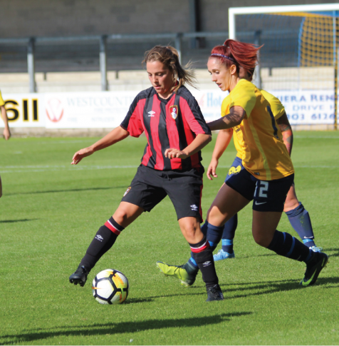Female Footballers AFC Bournemouth