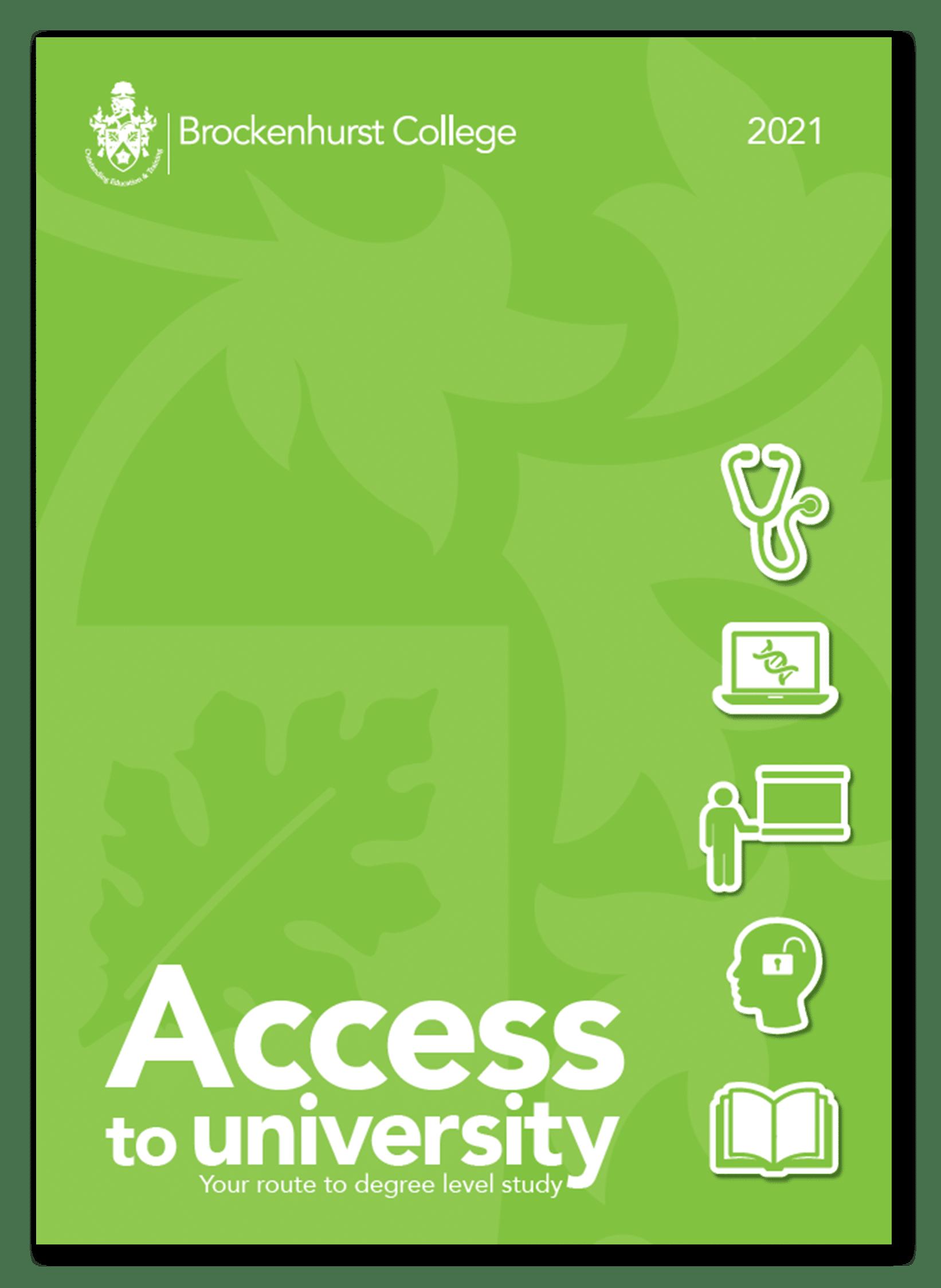 Access to University Brochure 2021