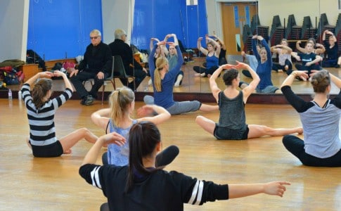 Choreographer visits Brock