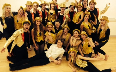 Brock Students performing 'A Chorus Line'