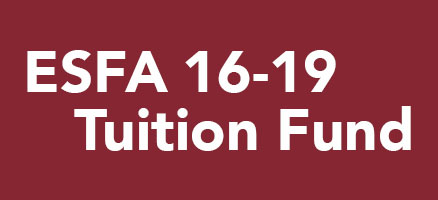 ESFA 16-19 Tuition Fund