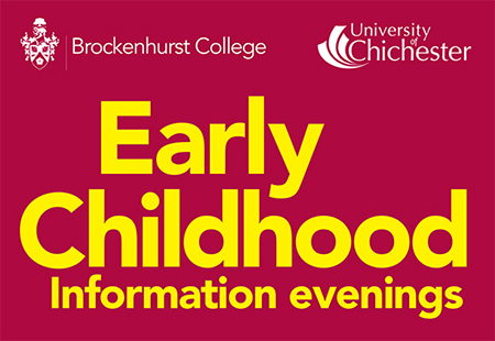 Banner for Early Childhood Information Evening