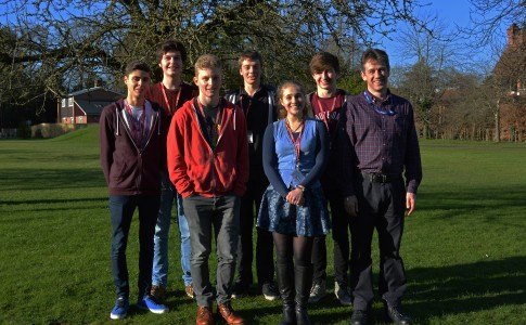 Group of Students who have been offered places at Oxbridge