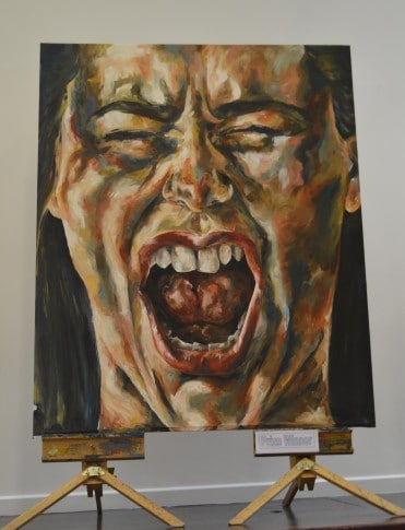 Holly Ainslie's art - Winner of the Visual Arts Student Achievement