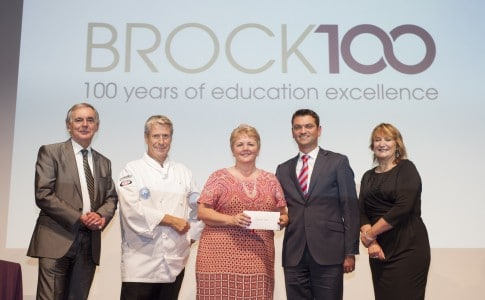 Centenary Awards at Brock
