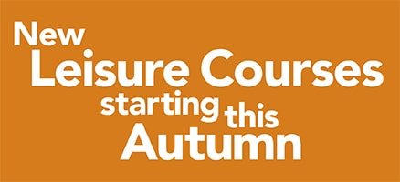 Enrol now and learn something new this Autumn