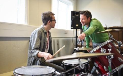 Drumming lessons at Brock