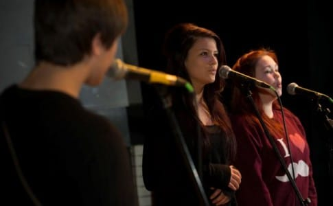 Talented Brock Students singing