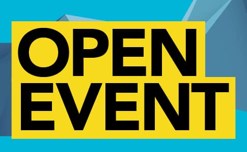 Open Event – Tuesday 6 July 2021