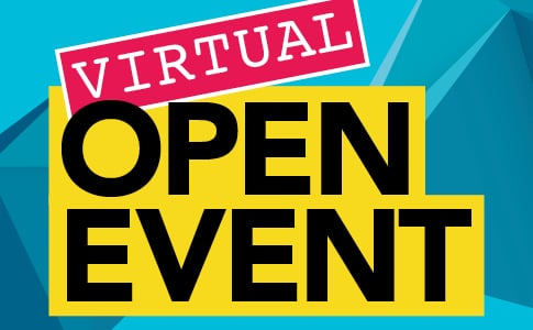 Virtual Open Event - Sat 14 Nov