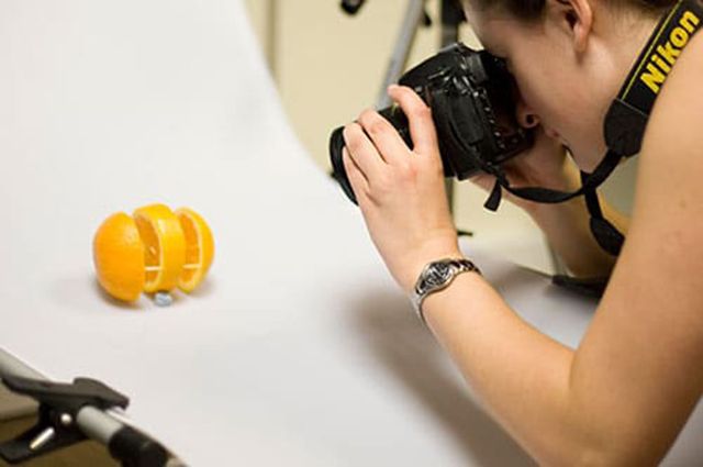 Photography of an orange