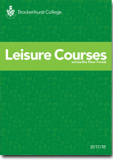 Leisure Courses Brochure