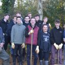 Our public services students volunteering at Furzey Gardens