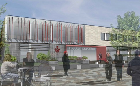 Artists impression of new STEM building