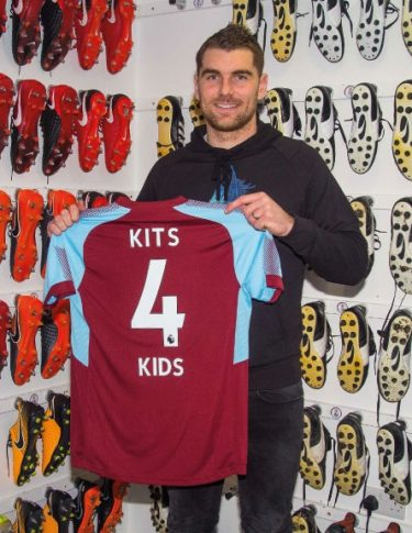 Sam Vokes Kits for Kids