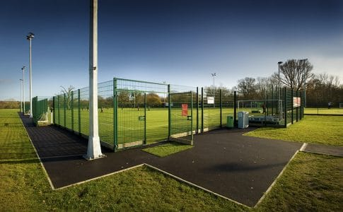 Full size Artificial Turf Pitch at Brockenhurst College