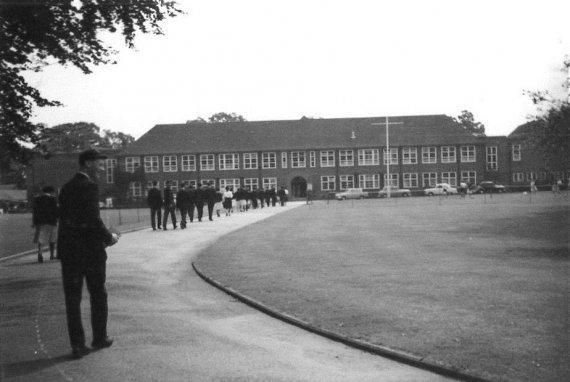 Brock College exterior last century