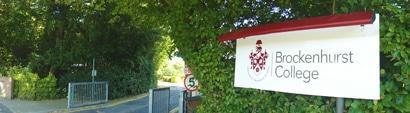 Brockenhurst College Entrance