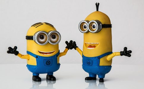 Minions from film 'Despicable Me'
