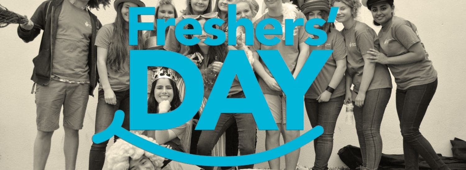 One more sleep until Freshers' Day!