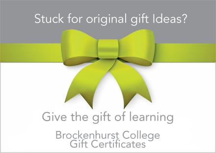 Brockenhurst College gift of learning