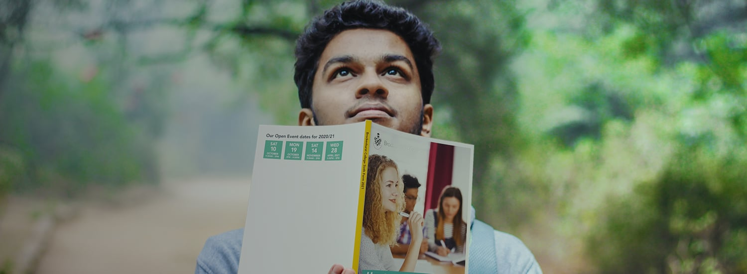 Have our latest Sixth Form prospectus delivered to your home...