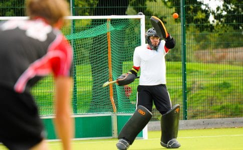 Hockey pitch at Brockenhurst College