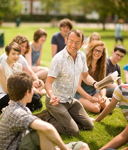 Lessons on the lawn at Brock