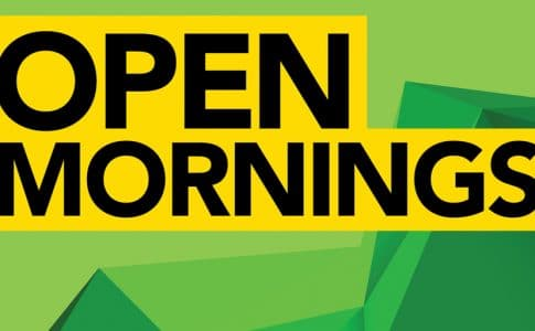 Open Morning – Mon 30 Nov