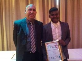 Amazing People Award nominee Dansan Wickneswaran