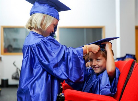 Children Uni Graduation