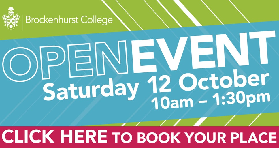 Open Day – Saturday 12th October