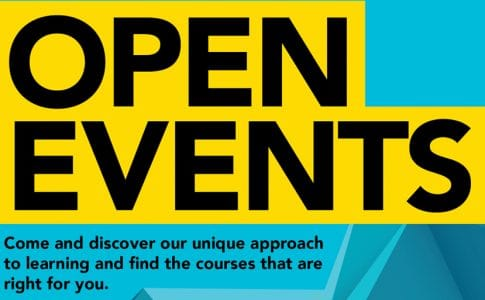 Open Event – Wed 28 April 2021