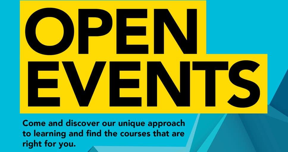 Open Event – Sat 10 October