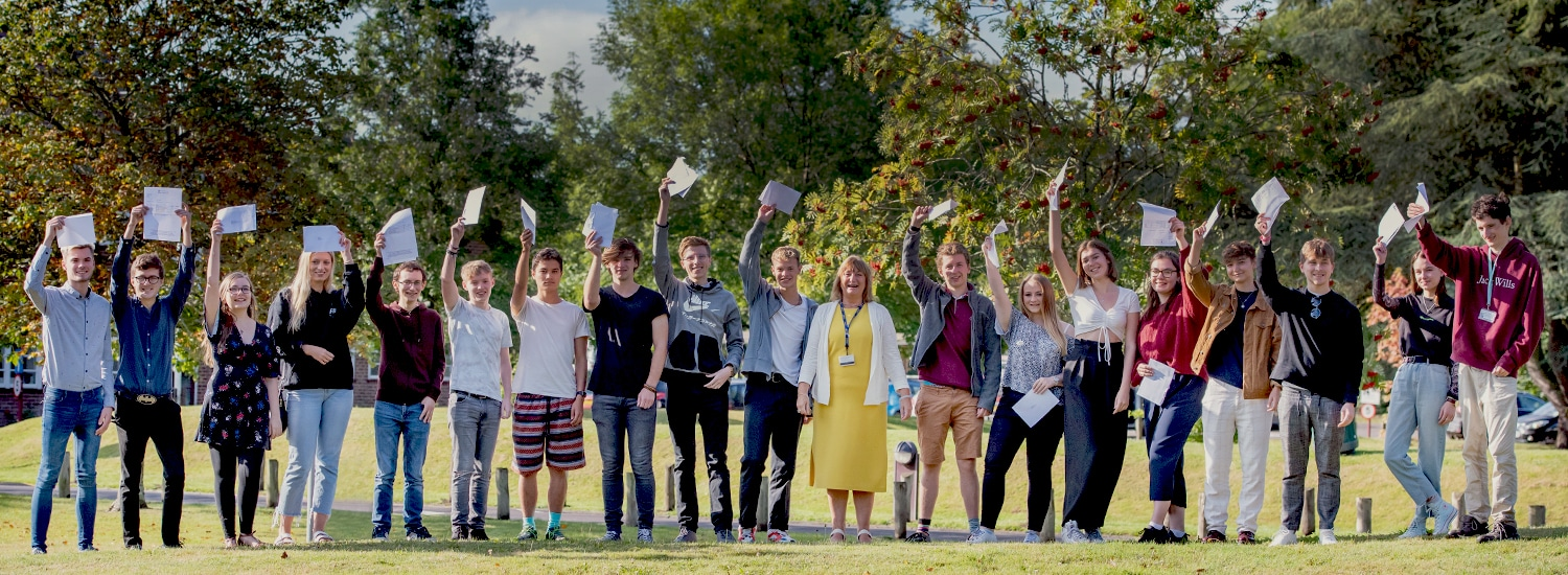Exam success for Brockenhurst College students