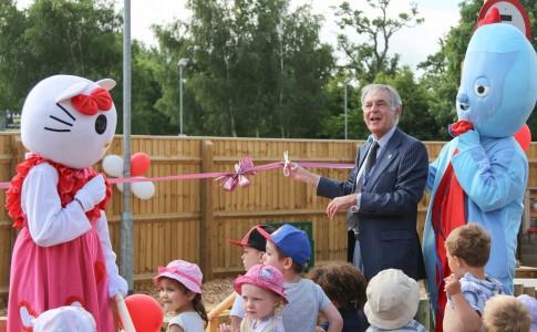 Opening of Highwood Nursery