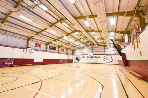 Brockenhurst College sports hall